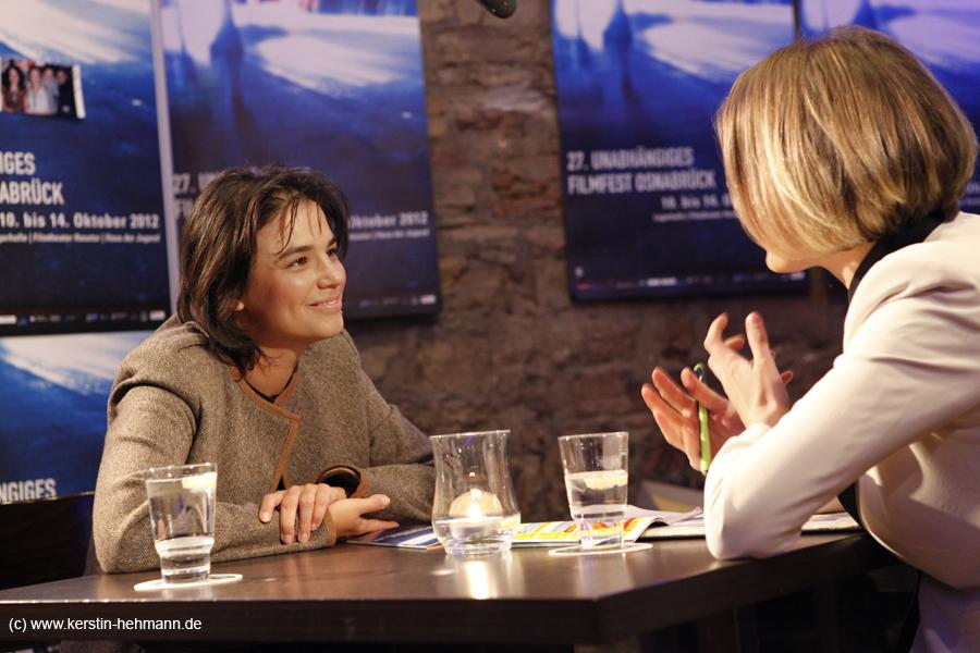 Anja Salomonowitz (Regisseurin des Eröffnungsfilms SPANIEN)